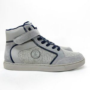 ORIGINAL PENGUIN Miller High-Top Sneaker Grey Blue